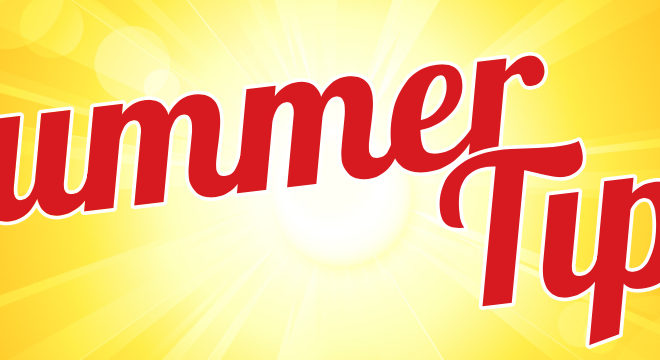 SAVE ENERGY WITH THESE SUMMERTIME TIPS