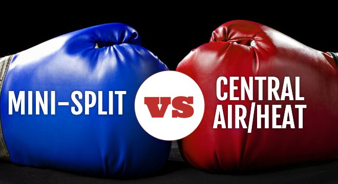 Mini Split vs Central Air/Heat: Which is Right for You?