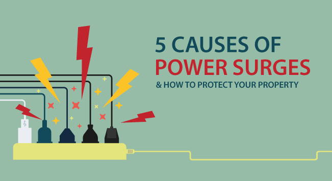 5 Causes of Power Surges and How to Protect Your Property