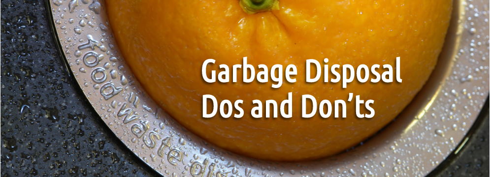 Garbage Disposal Dos and Don'ts