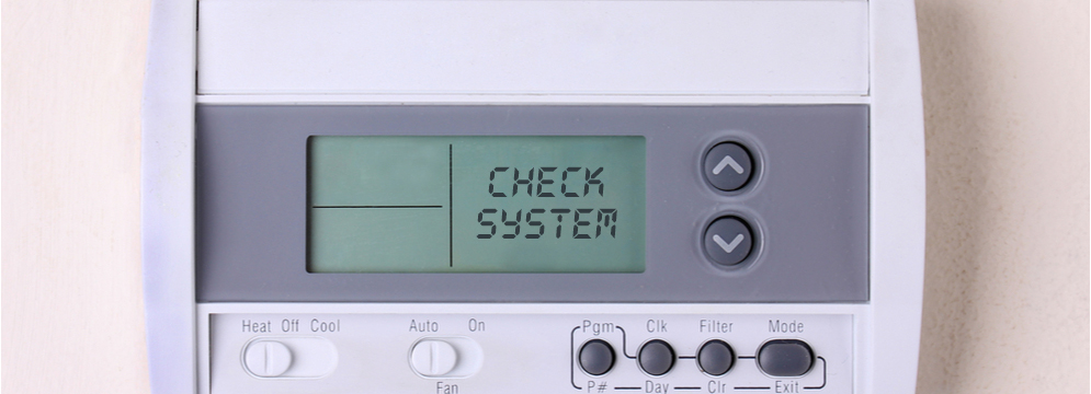 Why Does My Thermostat Say Check System?